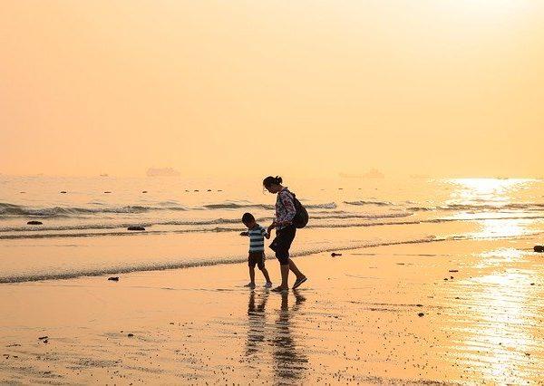 Les vacances, le moment idéal pour profiter de ses enfants.